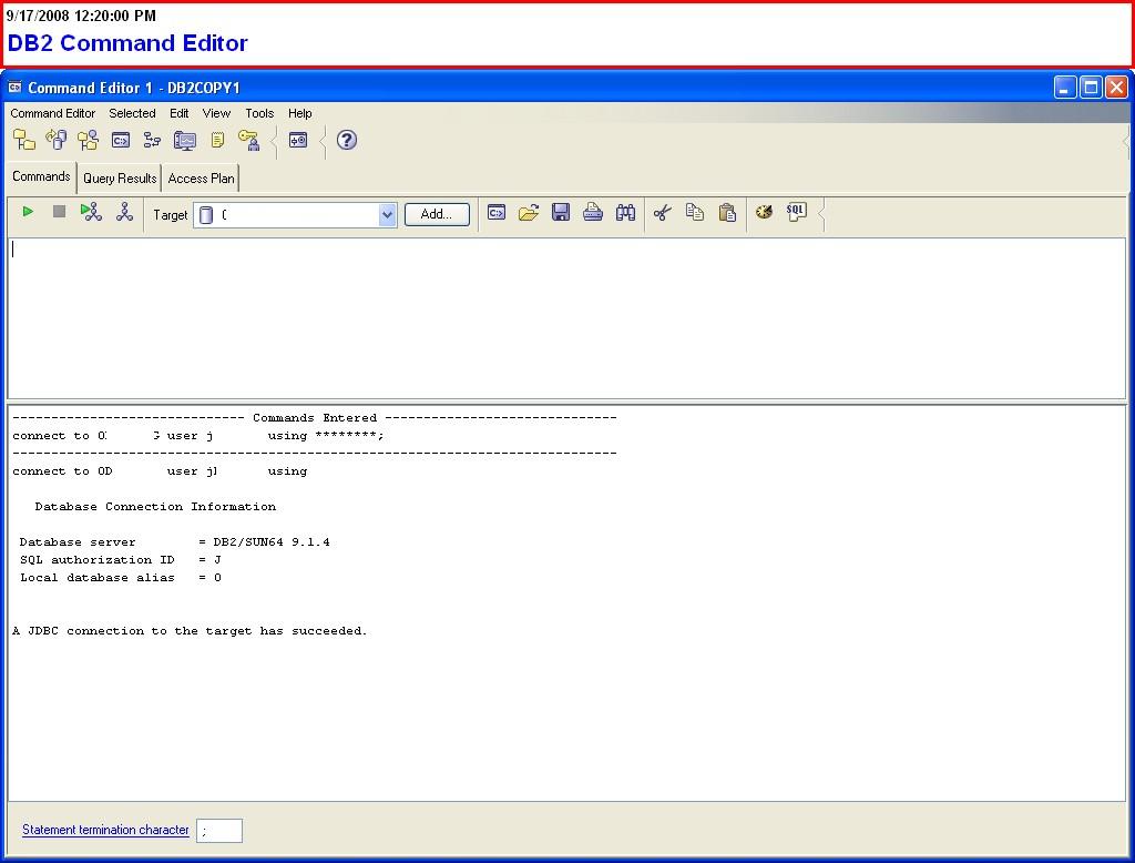 DB2 LUW DBA HowTo / Best Windows Utilities for the LUW DB2 DBA